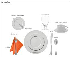 Casual Table Setting Table Setting Guides At Our Party Rental Store In San Jose Ca