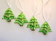 ornament handmade origami stylish green in origami