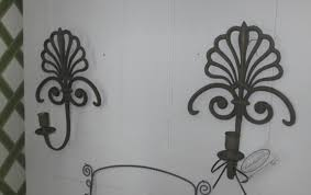 Metal Sconces Antique Chandeliers And Sconces Crystal French Spanish