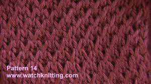 simulated brioche stitch free knitting tutorial knitting