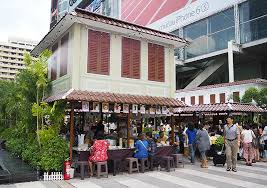 Capital City Awning Eat Shop And Be Entertained Like The Old Days At Centralworld U0027s