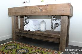 Rustic Bathroom Cabinets Vanities - diy rustic bathroom vanities car tuning homemade rustic bathroom