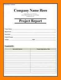 7 project completion report sample packaging clerks