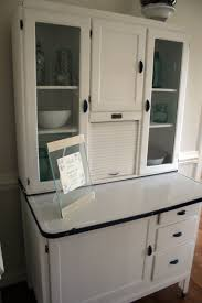 Kitchen Cabinet In History by Furniture Antique Kitchen Hoosier Cabinet In Brown For Home