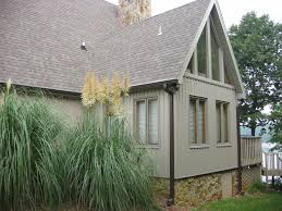 exterior design exciting gable roof with board and batten siding