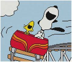Snoopy Rug Cross Stitch Knit Crochet Plastic Canvas Waste Canvas Rug Hooking