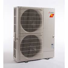mitsubishi mini split 48k btu ton mitsubishi mxz hyper heat 8 zone condenser in ductless ac