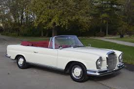 classic mercedes convertible 1963 mercedes 220 se convertible for sale restored euro car w