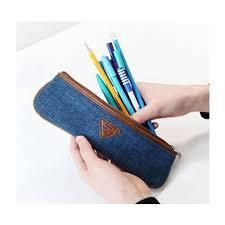 pencil pouch pencil high quality pencil pouch indigo