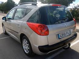 peugeot second hand cars second hand peugeot 207 sw for sale san javier murcia costa blanca