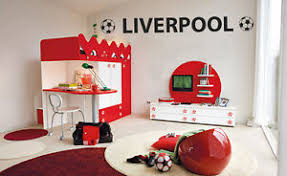 liverpool fc wall sticker football bedroom vinyl art decal ebay
