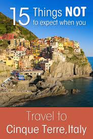 Cinque Terre Italy Map 15 Things Not To Expect When You Travel To Cinque Terre Italy