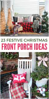 front porch ideas 23 front porch christmas projects to wow your neighbors