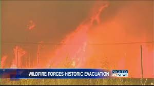 Canadian Wildland Fire Training by Canada Wildfire Forces Historic Evacuations Nbc News
