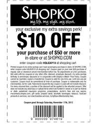 In Store Dress Barn Coupons Shopko Coupon Take 10 Off Any 50 Purchase Exp 11 17