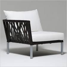 Tall Patio Chairs by Taragon Armless Chair Fabric Cushions Modular Unit Patio