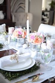table decorating ideas easy easter table decor ideas entertaining tour