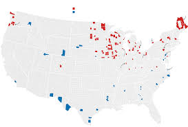 Demographic Map By Zip Code There Are Many Ways To Map Election Results Weve Tried Most Of