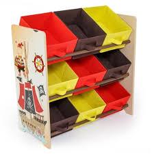 meuble de rangement pour chambre bébé meuble de rangement étagère jouet panier chambre enfant motif pirate