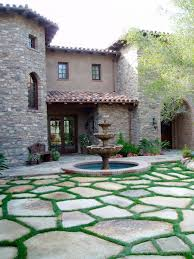 Simple Backyard Patio Ideas 20 Stone Patio Outdoor Designs Decorating Ideas Design Trends