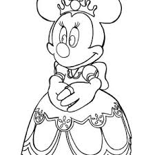 mickey minnie mouse moon coloring mickey