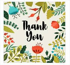 Thank You Card Designs 50 Thank You Cards Jpg Psd Ai Illustrator Download
