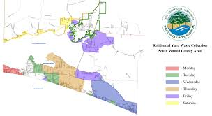 South Florida County Map by Yard Waste Collection Walton County Fl Home Page