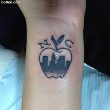 90 most amazing apple tattoo designs u2013 apple tattoos stencil art