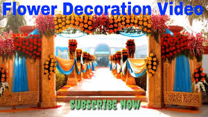 flower decoration or wedding decoration in marriages latest design