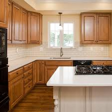 maple kitchen cabinets with white granite countertops maple kitchens kitchen cabinet refacing lfikitchens