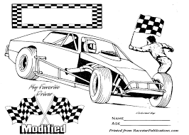race car clipart color pencil and in color race car clipart color