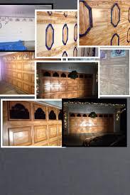 30 best outdoor garage lighting images on pinterest garage creating a wooden garage door with just paint and a grainer nice work dan