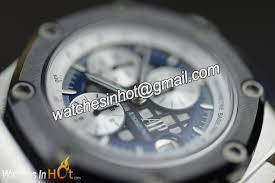 audemars piguet royal oak offshore rubens barrichello ii 26078po