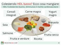 alimenti anticolesterolo hdl basso sintomi cause e rischi cosa mangiare