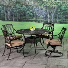 Patio Furniture Cast Aluminum Patio Ideas Outdoor Cast Aluminum Patio Furniture 7 Piece Dining