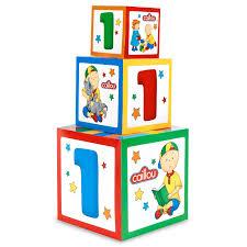 caillou birthday invitations caillou 1st birthday gift box set centerpiece birthdayexpress com