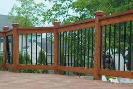 decor u0026 tips outdoor design with metal porch railing for deck