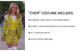 clueless costume items similar to cher costume clueless handmade on etsy