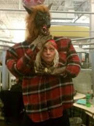 Baraka Halloween Costume Red Wolves Big Bags