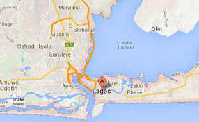 lagos city map 25 children rescued from child trafficker daily nation
