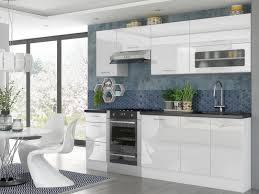 kitchen cabinets white gloss modern white high gloss kitchen cabinets cupboards set of 7 units complete modular 240cm rosi sto rosi set 7units 2 4 bi bip