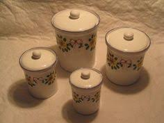 sunflower canisters for kitchen new sunflower canister set glass kitchen canisters popscreen