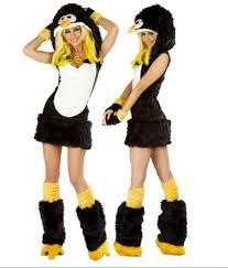 fur penguin fancy dress costume order via www dressnest co uk