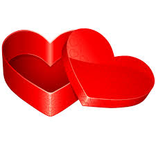 open heart shaped gift box icon download free icons