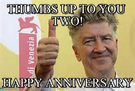 Happy Anniversary Meme - thumbs up to you two happy anniversary meme on memegen