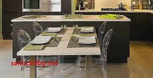table amovible cuisine ilot avec table coulissante pour idees de deco de cuisine