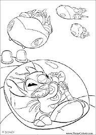 drawings paint u0026 colour lilo stitch print design 003