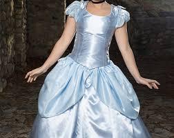 Belle Halloween Costume Blue Dress Belle Princess Costume Belle Custom Cosplay Belle