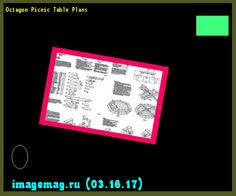 octagon picnic table plans free walk 163653 the best image
