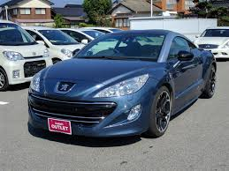 peugeot rcz 2010 2010 peugeot rcz carbon roof pack used car for sale at gulliver